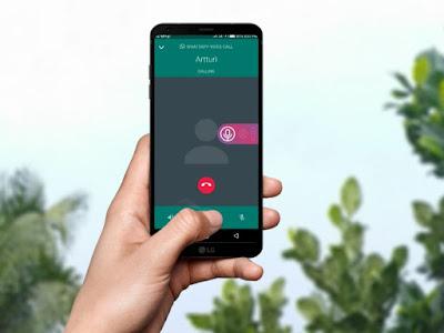 حظر المكالمات الواردة من اي شخص على تطبيق واتساب