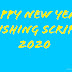 2020 happy new year wishing script download free and PRO
