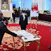Presiden Lantik Listyo Sigit Prabowo sebagai Kapolri