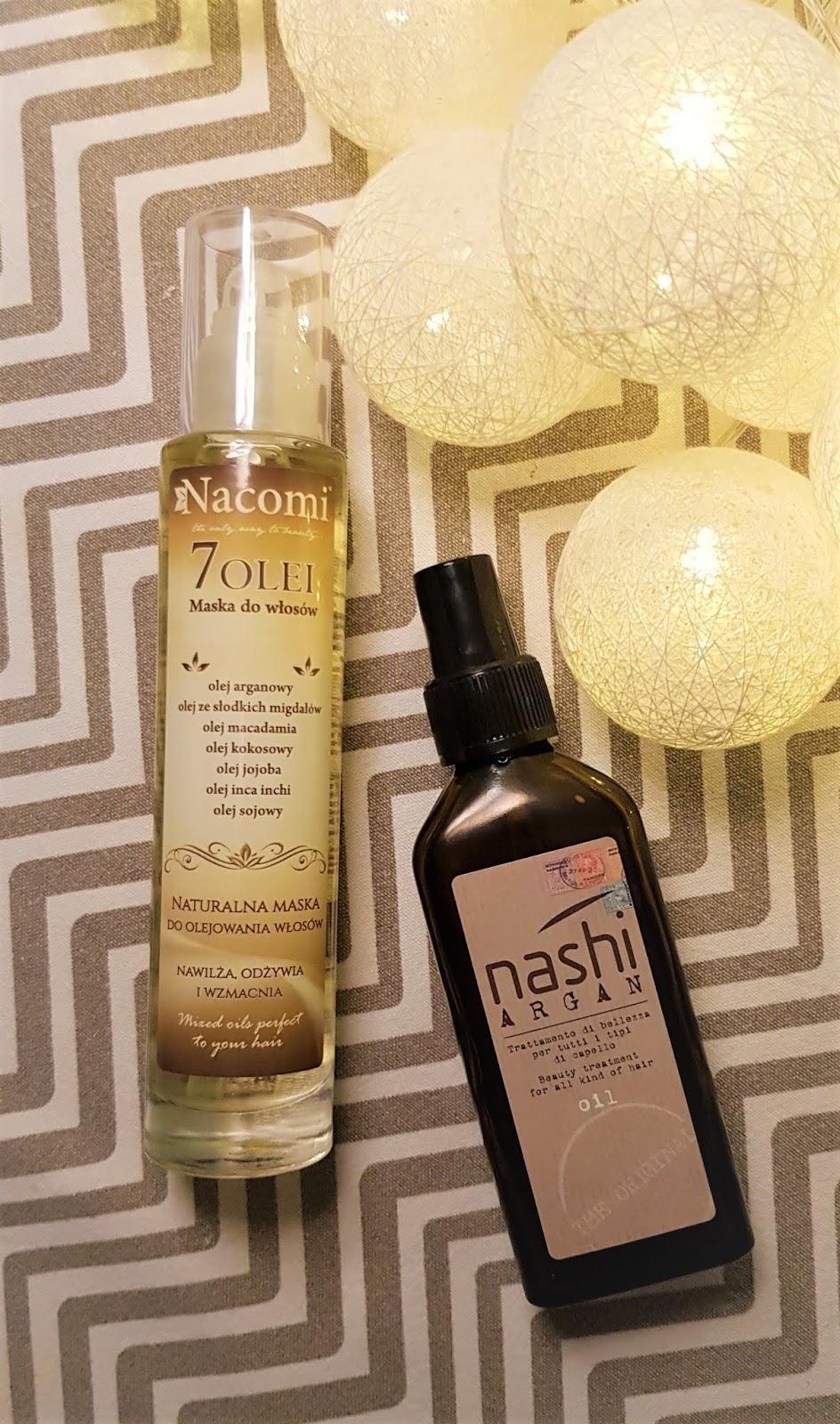 Nacomi naturalna maska do olejowania włosów 7 olei