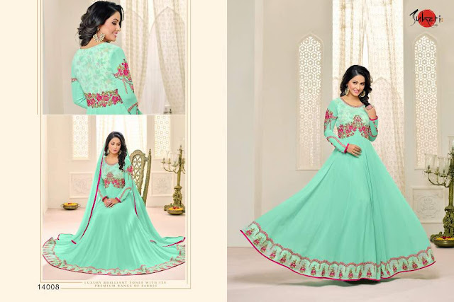 Buy Online Hina Khan Style Designer Salwar Suit Collection at Low Price