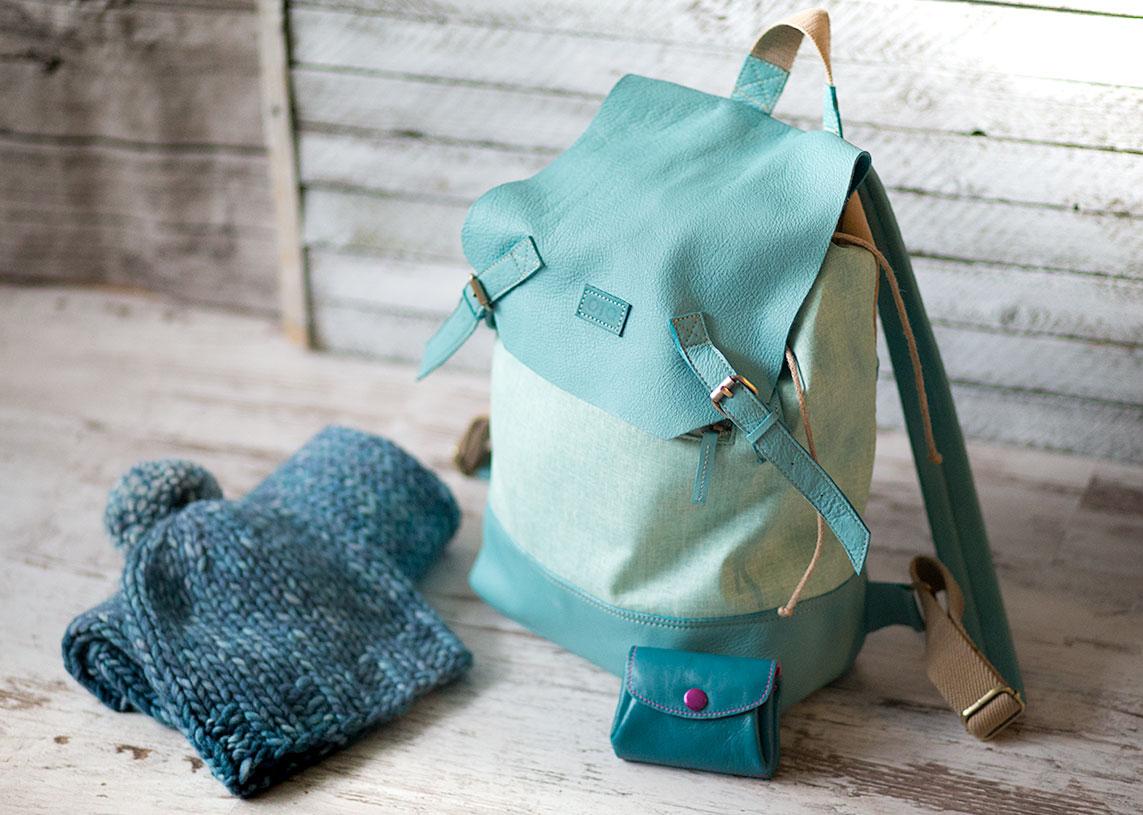 сколько нужно пряжи на рюкзак