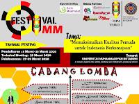 Festival IMM Universitas Muhammadiyah Kotabumi
