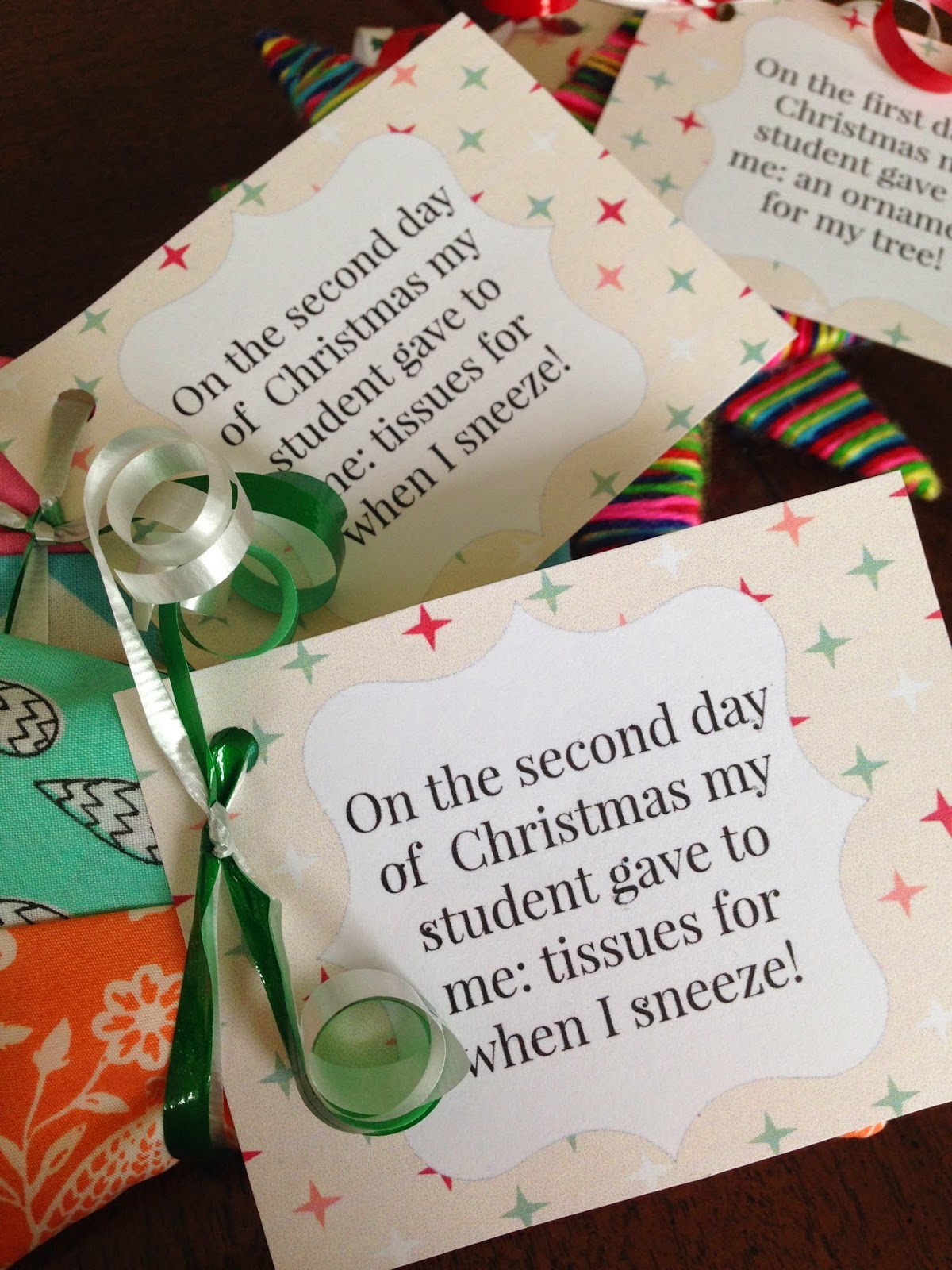 Little Bit Funky: 12 days of Christmas {teacher edition ...