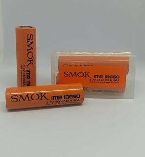 Baterai Rokok Elektrik SMOKE ORANGE 3500Mah 40A Battery VAPE SMOKE