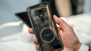 هاتف HTC exodus سيقوم بتعدين مونيرو