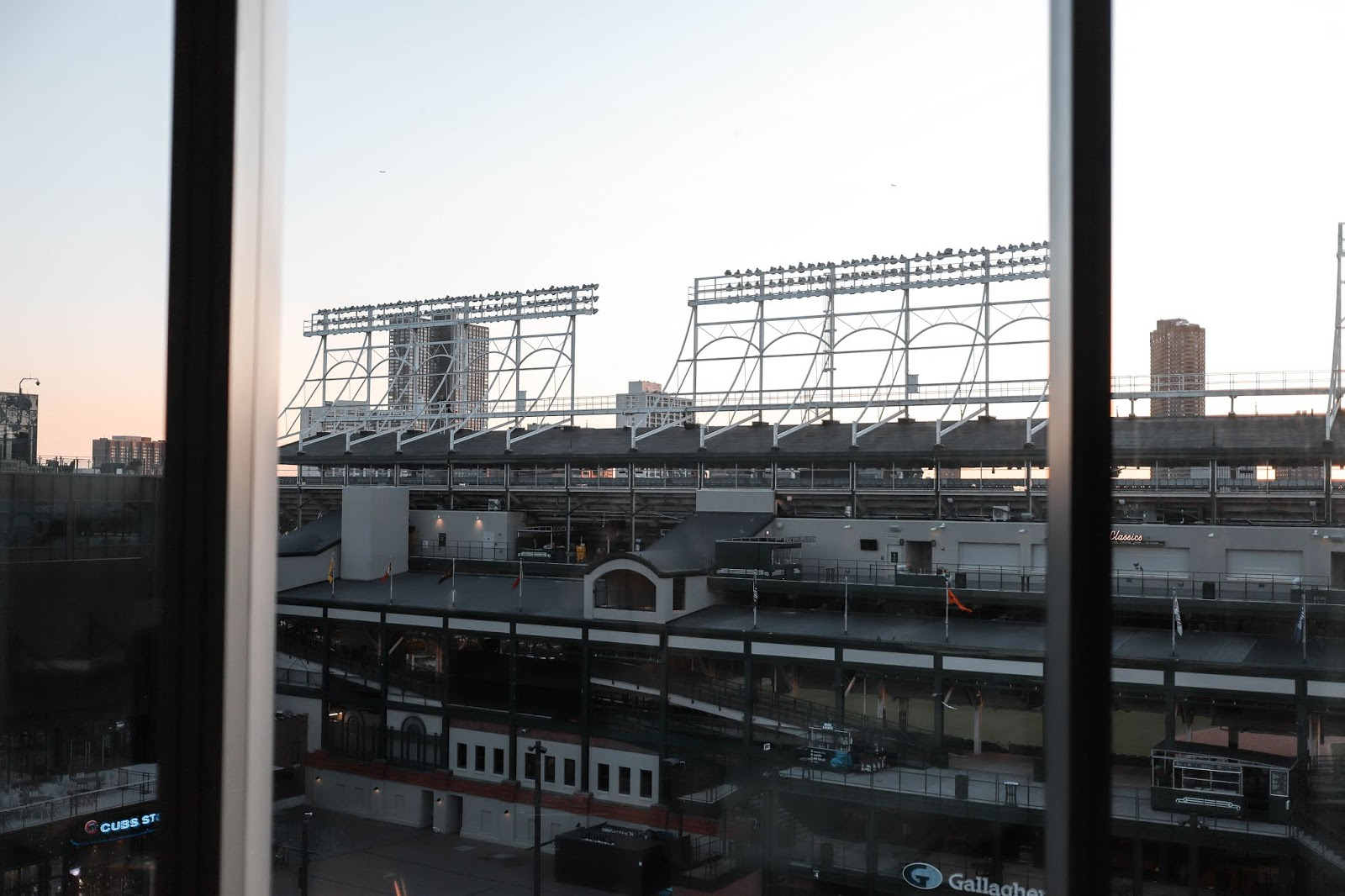 Hotel Zachary Room View of Rigley Field