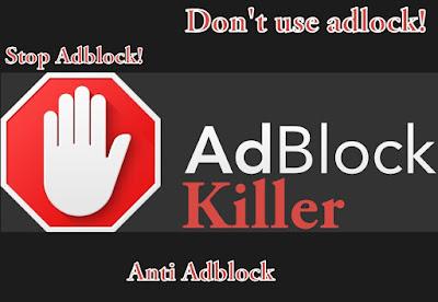 Cara Memasang Adblock Killer Pada Blogger