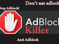 Cara Memasang Adblock Killer Pada Blogger - By Pass Adblock