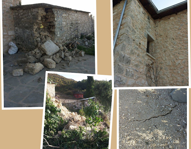Σοβαρές ζημιές προκλήθηκαν στο Μοναστήρι της Παναγίας στους Ασπραγγέλους Ζαγορίου (+ΦΩΤΟ)