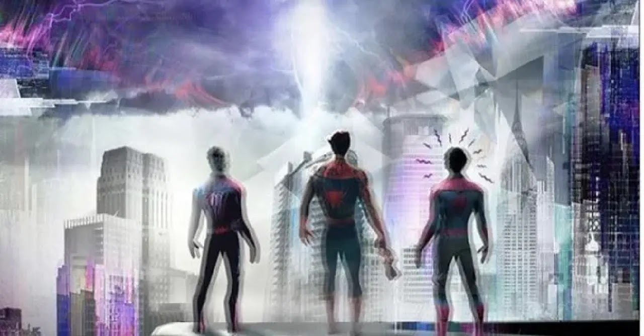 Jamie Foxx's shares Spiderman live action multiverse fan art
