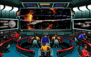 El interior del Enterprise en Star Trek Judgment Rites