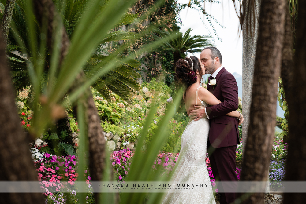 Garden wedding Amalfi coast