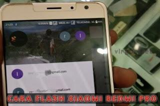 Cara Flash Xiaomi Redmi Pro