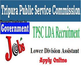 Lower Division Clerk Recruitment 2019 - Tripura PSC Apply Online For 100 Posts