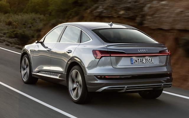 Audi e-Tron Sportback: SUV eétrico cupê chega aos EUA