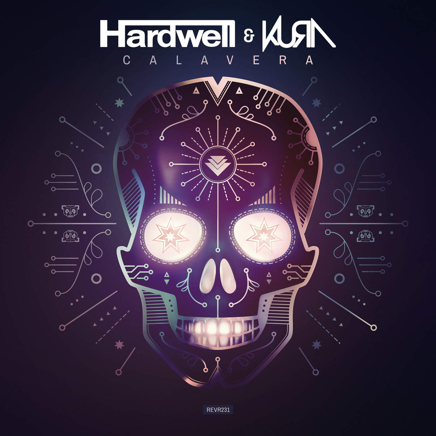 Hardwell & Kúra - Calavera - Single Cover