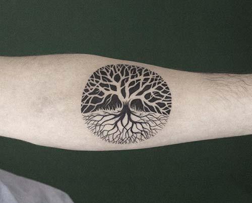 yaşam ağacı dövmesi tree of life tattoo