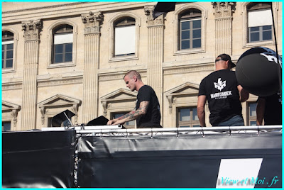 Char Hardshock techno parade 2016