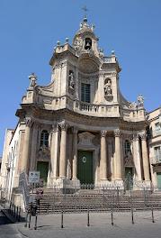 Catania's beautiful Basilica della Collegiata