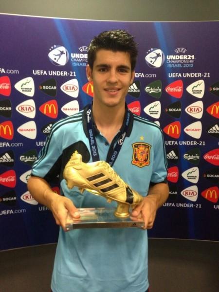 Data Dan Foto Euro U Isco Pemain Terbaik Alvaro Morata P