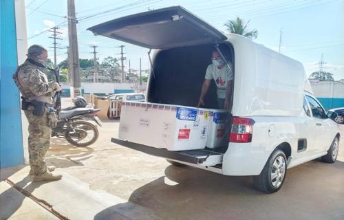 Rondônia recebe 42,5 mil doses da vacina AstraZeneca contra Covid-19