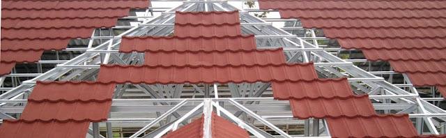 Jarak Reng Baja Ringan Atap Multiroof Ukuran Genteng Metal Sakura Roof Multi Surya Sky
