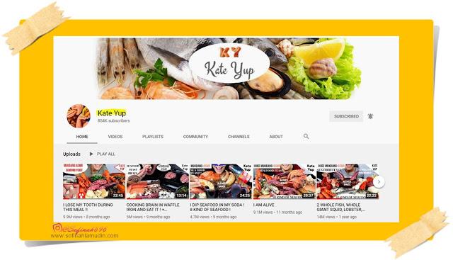 Kisah konspirasi misteri kontroversi youtuber kate yup diculik dipaksa makan dibunuh