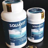 SQUAVIT Isi 40 Softgel @1000mg Minyak Hati Ikan Hiu Squalene Omega pdo