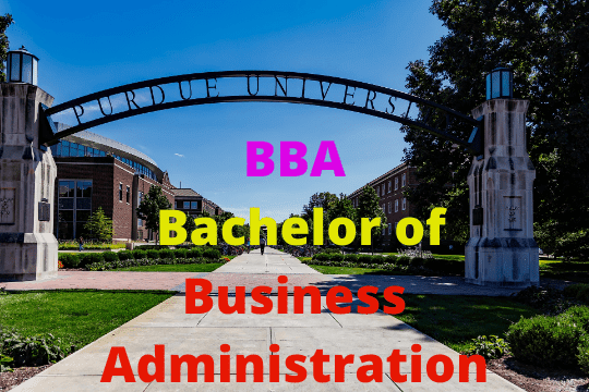 BBA Ka Full Form-Bachelor of Business Administration