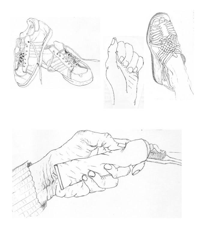 Dibujo de contornos escuetos - Dibujo