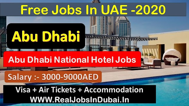 Hotel Jobs In Abu Dhabi - UAE 2020