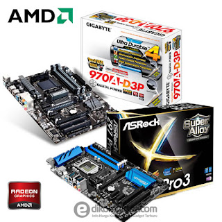 Daftar Harga Motherboard PC Dekstop AMD Socket AM3 / AM3+