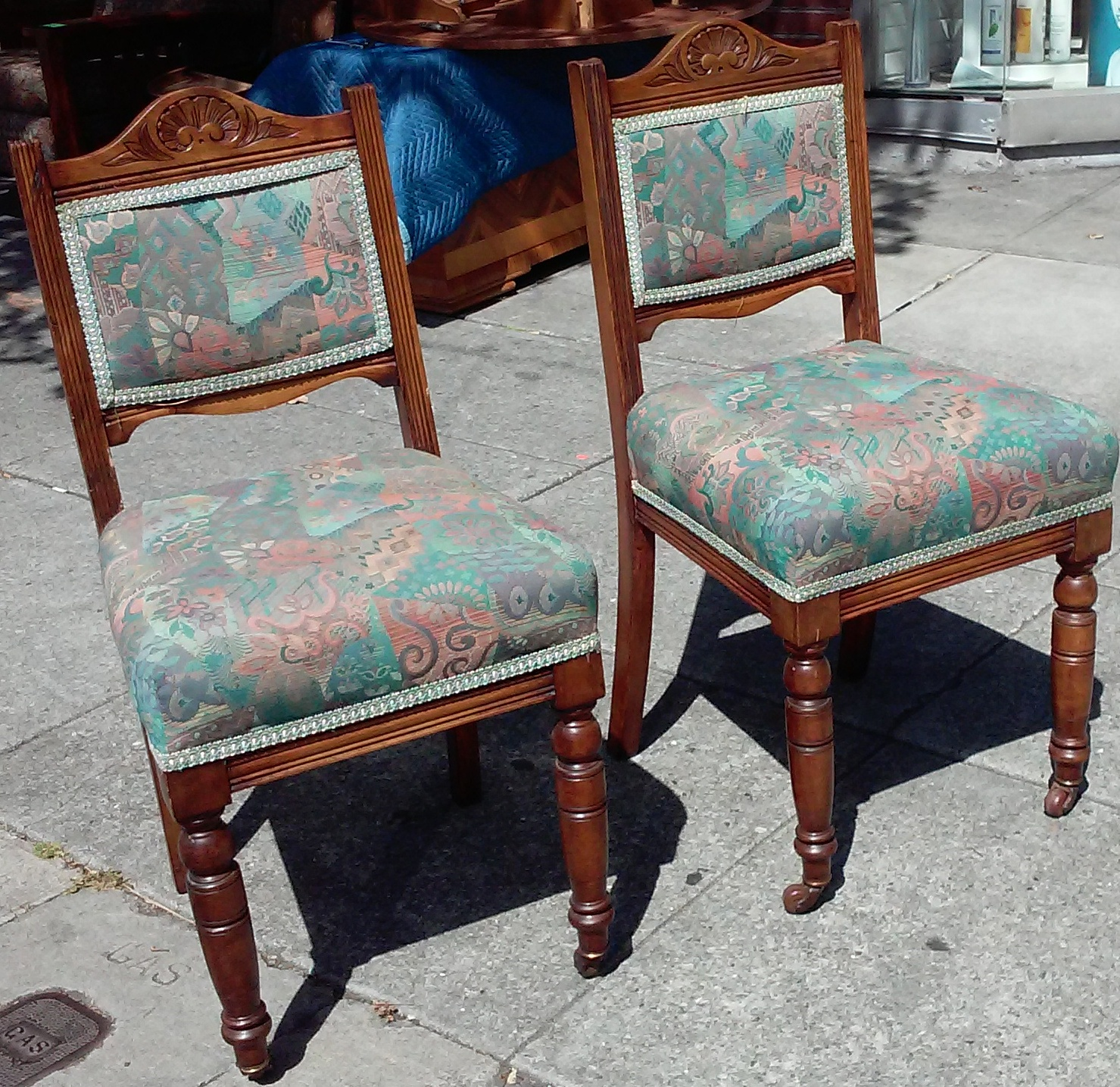 Uhuru furniture collectibles sold reduced pair of for Reduced furniture