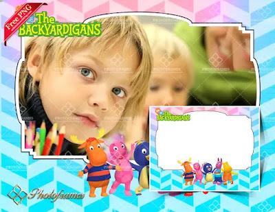 Colorido de los Backyardigans para hacer fotomontajes infantiles