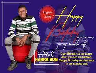 fave harrison birthday anniversary