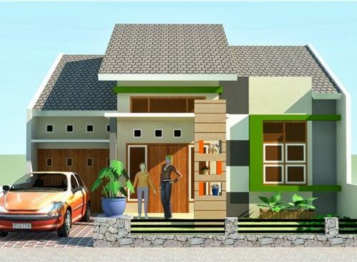 Contoh Denah Dan Desain Rumah Minimalis Type 60 BURANGIR COM