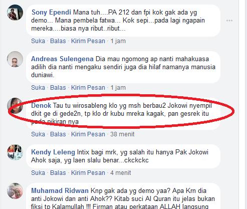 7 Jt Umat Diam Saat Hater Jokowi Hina Kitab Suci (Inc. Al-Quran), Masyarakat Langsung Komentar Pedas Begini