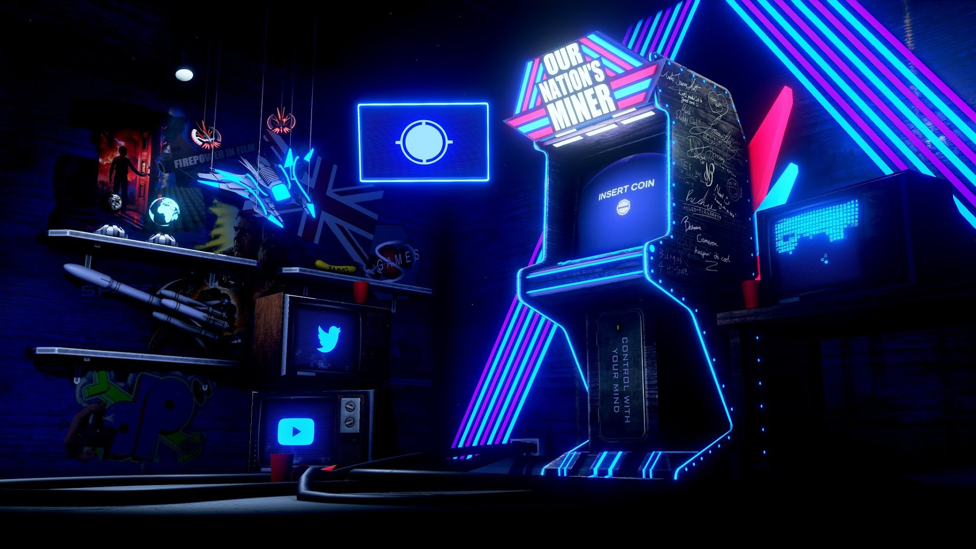Wallpaper 4k Arcade Game Heroscreen Cool Wallpapers
