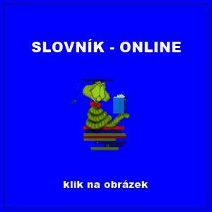 SLOVNÍK - ONLINE -