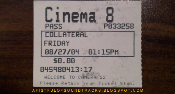 Collateral refers to both Jamie Foxx's character and all the casualties caused by Tom Cruise, including that poor sandwich Jamie Foxx brought with him to work.