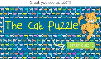 the cat puzzle quiz answers 100% score-gimme more quiz