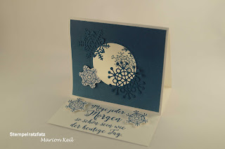 Aufstellkarte Winter mit Stampin´ Up!