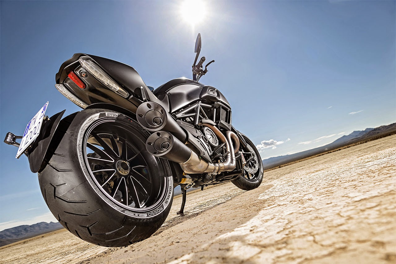 Ducati Diavel rear