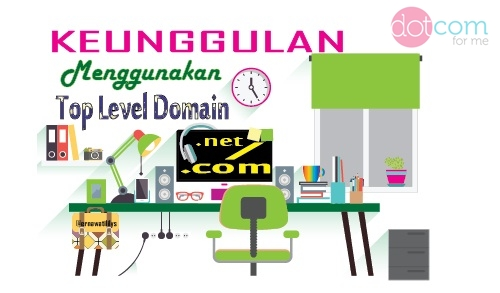 Keunggulan Menggunakan Top Level Domain dot net dot com