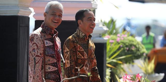 Cuma Buat Video Ucapan Selamat Ke Megawati, Jokowi Kentara Dukung Ganjar