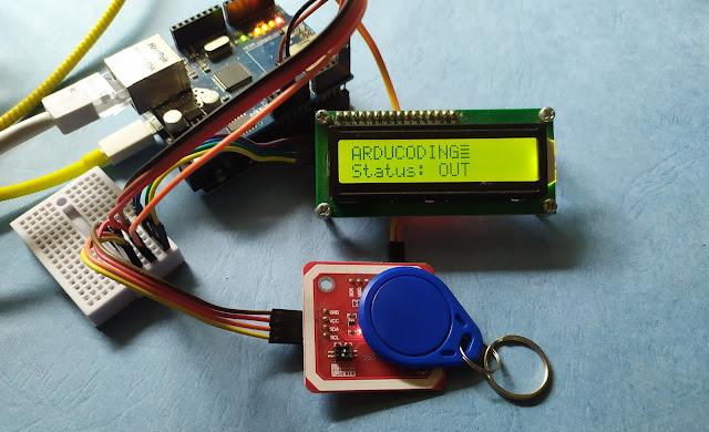 Mesin Absensi Arduino dengan Smart Card