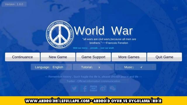 dünya savaşı hile apk