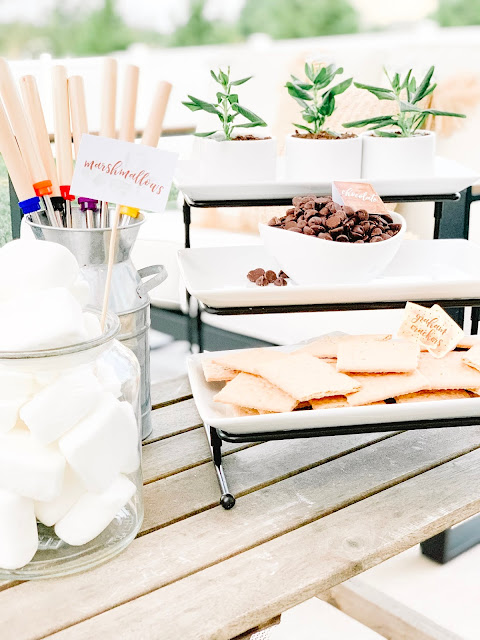 FEATURE: S'mores Table | Summer Party Theme by The Celebration Stylist