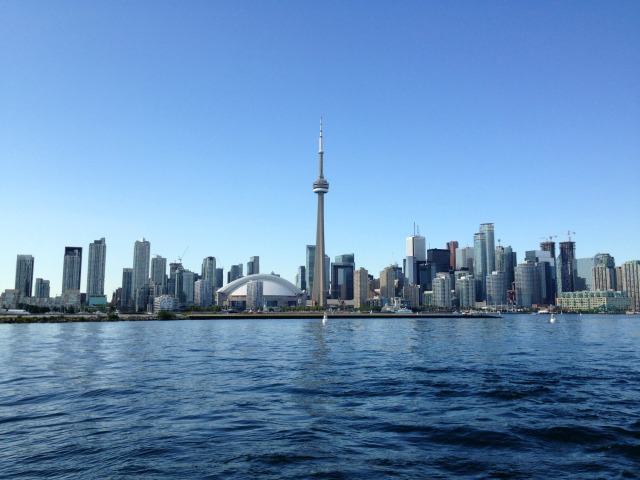 Toronto Skyline from water